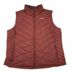 Columbia Omni Heat Puffer Vest Sz 3X